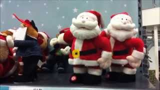 INAPPROPRIATE FATHER CHRISTMAS SANTA CLAUS SINGING AND DANCING