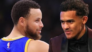 Steph Curry SHADED By NBA Rookie Trae Young