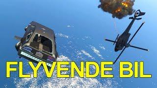 FLYVENDE BILER! - GTA: Online [Dansk]