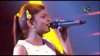 Indian Idol Junior 2015   Maahi Ve  by Niharika