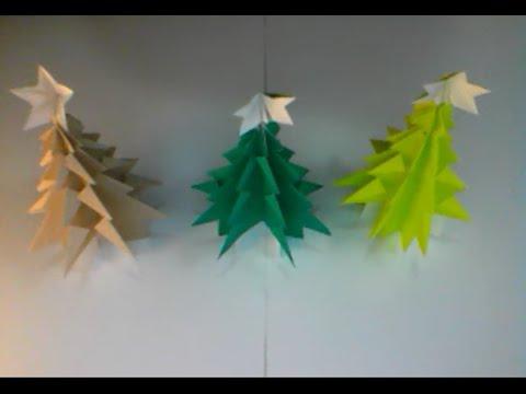 Japanese Origami Christmas Tree