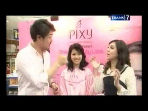 Selebrita Siang episode Nycta Gina liputan PIXY Beauty Week (5 Desember 2013)