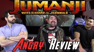 Jumanji: Welcome to the Jungle Angry Movie Review