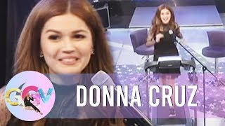 GGV: Donna Cruz sings