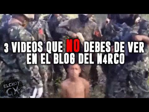Top Los 3 vídeos más perturbadores del Blog Del Narco