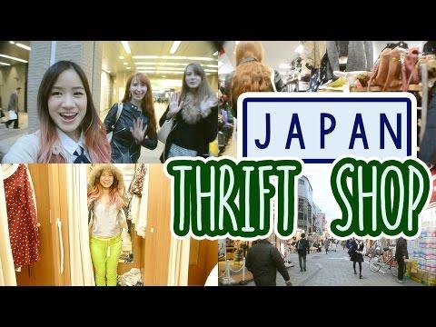 Japan Vlog: Thrift Shop in JAPAN | Thrift Shop HAUL | Fashion Swap with Rachel & Jun
