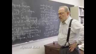 Hyman Bass - 2006 National Medal of Science