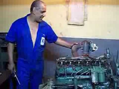 montando motor 352OM mercedes