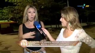 Andrea de Andrade faz teste para provar que é popozuda