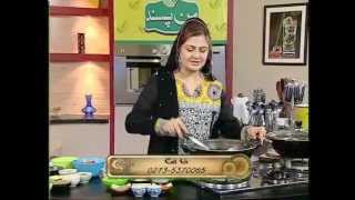 """Cook In Style with Farah Jahanzeb """"Daal Mash Fry & Chicken Karahi"""" Part 01 of 04 at Zaiqa Tv"""