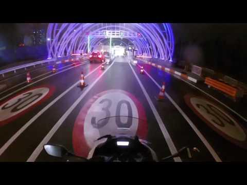 Motosikletle Avrasya Tüneline Gittim ve Karşıya Geçtim - vlog
