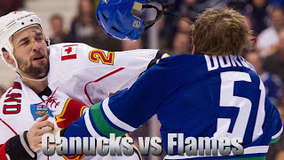 Top 10 Most EPIC NHL Fights Of All-time