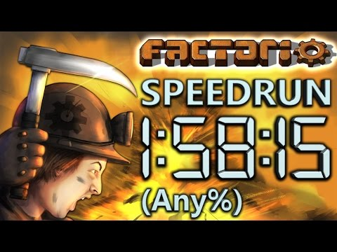 Factorio Speedrun in 1 58 15 by AntiElitz any 0.14 World Record