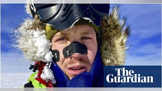 US explorer Colin O'Brady completes first unaided, solo traverse of Antarctica - babanews