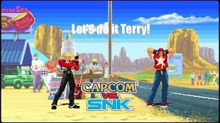 CXS - Rock/Terry TAG Arcade Mode Capcom X SNK - Ikemen ONLINE 60fps