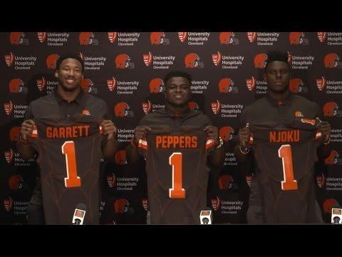 2017 NFL Draft 1st round picks press conference