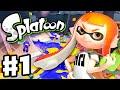 Download Video Download Splatoon - Gameplay Walkthrough Part 1 - Intro, Multiplayer, and Single Player (Nintendo Wii U) 3GP MP4 FLV
