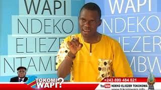 TOKOMI WAPI 27 10 2018 NDEKO ELIEZER A KEBISI BA MOUCHARD