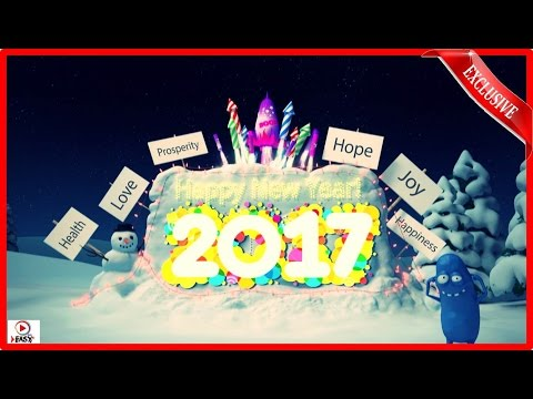 Xxx Mp4 Happy New Year 2017 Funny Christmas Cartoon Video Amazing Fireworks 2017 3gp Sex