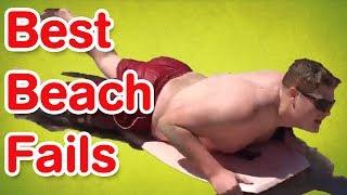 Best Beach Fails   Funny Beach Fails Compilation