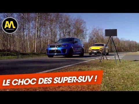 Lamborghini Urus VS. Range Rover SVR Duel XXL