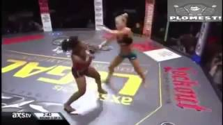 Best Amazing Women MMA Knockout KO'S Highlights