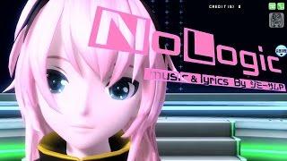[60fps Full風] No Logic - Megurine Luka 巡音ルカ Project DIVA Arcade English lyrics Romaji subtitles