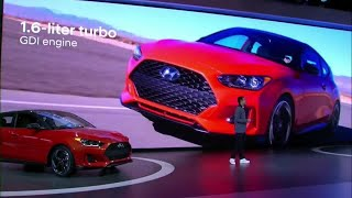 Hyundai 2019 Veloster N is automaker's first high-performance N model in U.S.