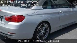 2014 BMW 4 Series 435i 2dr Convertible for sale in Orlando,