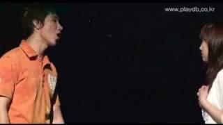 Taeyeon(SNSD) Kiss Scene @ Musical Midnight Sun