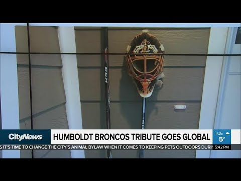 Humboldt Broncos tributes from around the world