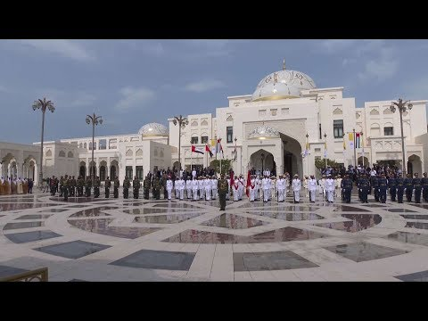 Xxx Mp4 Spectacular Reception To The Pope In Abu Dhabi Presidential Palace 3gp Sex
