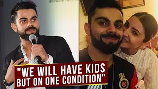 Virat Kohli Breaks Silence On Having Kids With Anushka Sharma But On One Condition