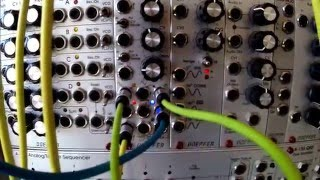 Modular Synth - Patch In Progress 27