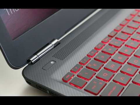 HP OMEN Gaming Laptop Review 2016
