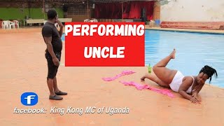 KING KONG MC OF UGANDA DANCING TO  uncle By ID TWINS New Ugandan Dance Comedy 2017 HD