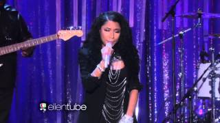 Nicki Minaj Performs 'Bed of Lies' on Ellen 2014