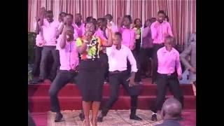 pastor Wilson Bugembe preaching at vicory church ndeeba (part one)