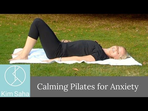 Calming Pilates for Anxiety 1: Mindful Pilates Basics with Breathing