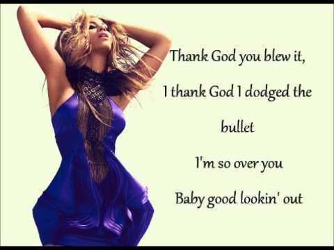 Beyonce Best Thing I Never Had lyrics