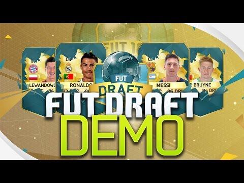 Kipróbálom FIFA 16 FUT Draft demo