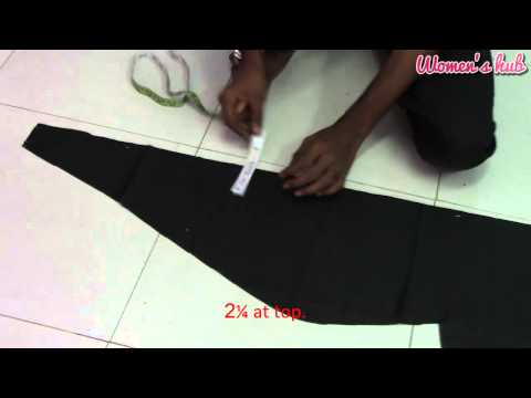 Xxx Mp4 24 Panel Anarkali 4 Inner Cutting And Creating Panel Pattern 3gp Sex