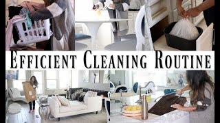 Night Time Cleaning House Routine - MissLizHeart