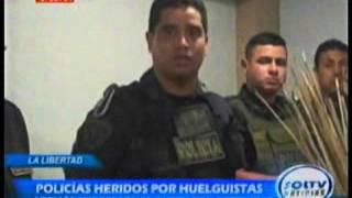 ASCOPE: SEIS DETENIDOS Y POLICÍAS HERIDOS TRAS ENFRENTAMIENTO EN CASA GRANDE