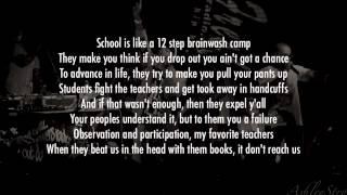 Dead Prez - They Schools (Lyrics Video)