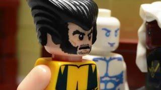 X-Men: Lego Movie Wolverine vs Xavier
