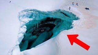 5 اكتشافات غريبة وُجدت تحت سطح الجليد..!!