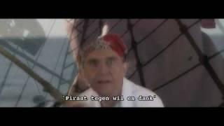 PROMO piraat tegen wil en dank De Stormvogels
