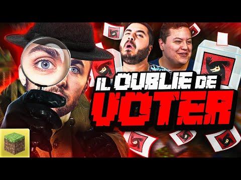 IL OUBLIE DE VOTER 😂 Minecraft Loup Garou