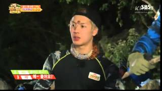 150911 ‪‎Jackson‬ SBS Laws Of The Jungle - cut 1